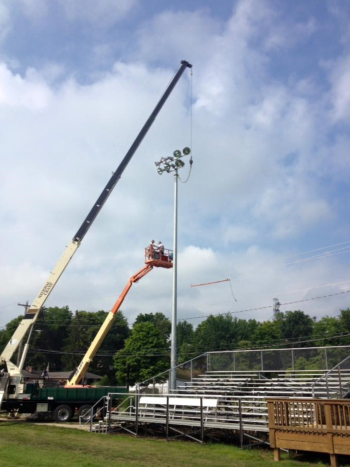 New Light at the Football Stadium