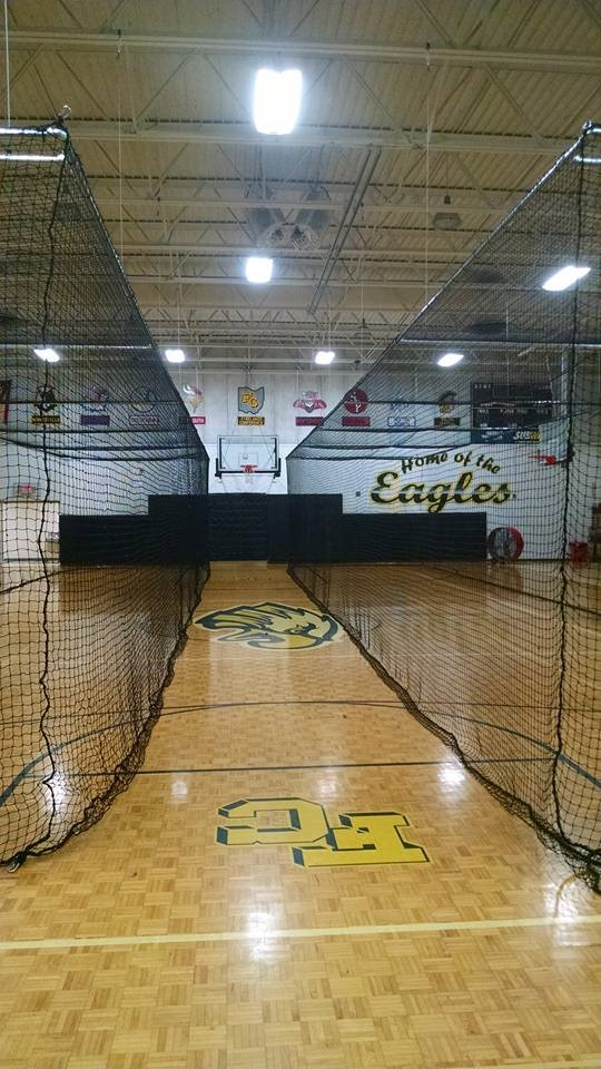 Retractable Hitting Nets in the Elementary Gym