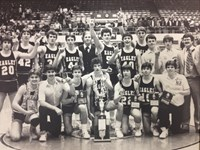 1984 Boys Basketball State Championship Team – Group or Team